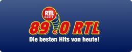89.0 RTL Logo