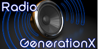 Radio GenerationX Black+RNB-Stream Logo